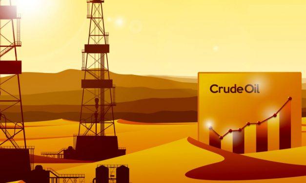 Crude Oil in risalita